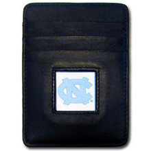 North Carolina Tar Heels Leather Money Clip Card Holder Wallet NCCA College Sports CCH9