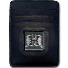 Hawaii Warriors Leather Money Clip Card Holder Wallet NCCA College Sports CCH99