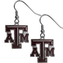 Texas A&M Aggies Dangle Earrings NCCA College Sports CDE26