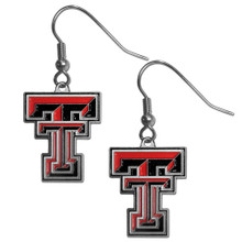 Texas Tech Raiders Dangle Earrings NCCA College Sports CDE30
