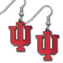 Indiana Hoosiers Dangle Earrings NCCA College Sports CDE39