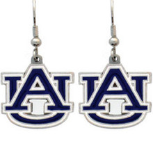 Auburn Tigers Dangle Earrings NCCA College Sports CDE42