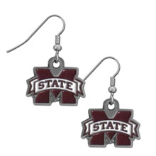 Mississippi State Bulldogs Dangle Earrings NCCA College Sports CDE45
