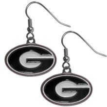Georgia Bulldogs Dangle Earrings NCCA College Sports CDE5