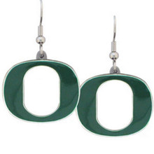 Oregon Ducks Dangle Earrings NCCA College Sports CDE50