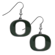 Oregon Ducks Chrome Dangle Earrings NCCA College Sports CDE50N