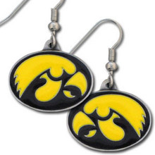 Iowa Hawkeyes Dangle Earrings NCCA College Sports CDE52