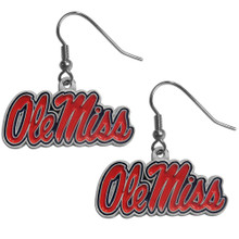 Mississippi Rebels Dangle Earrings NCCA College Sports CDE59
