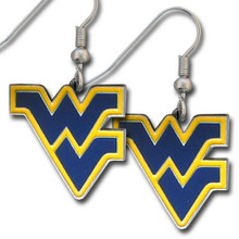 West Virginia Mountaineers Dangle Earrings NCCA College Sports CDE60