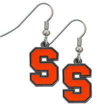 Syracuse Orange Dangle Earrings NCCA College Sports CDE62
