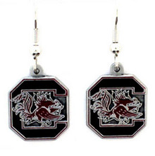 South Carolina Gamecocks Dangle Earrings NCCA College Sports CDE63