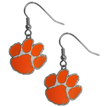 Clemson Tigers Dangle Earrings NCCA College Sports CDE69
