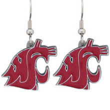 Washington State Cougars Dangle Earrings NCCA College Sports CDE71