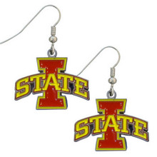 Iowa State Cyclones Dangle Earrings NCCA College Sports CDE83