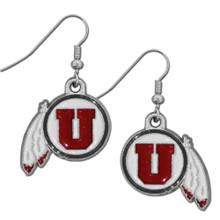 Utah Utes Dangle Earrings NCCA College Sports CDE89