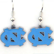 North Carolina Tar Heels Dangle Earrings NCCA College Sports CDE9