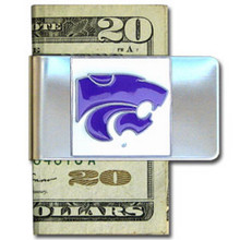 Kansas State Wildcats Logo Money Clip NCCA College Sports CMCL15