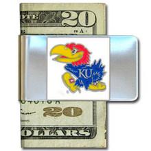 Kansas Jayhawks Logo Money Clip NCCA College Sports CMCL21