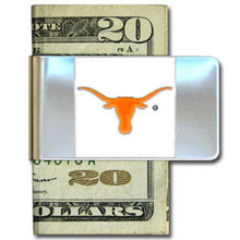 Texas Longhorns Logo Money Clip NCCA College Sports CMCL22