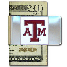 Texas A&M Aggies Logo Money Clip NCCA College Sports CMCL26