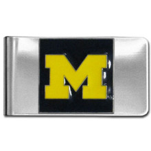Michigan Wolverines Logo Money Clip NCCA College Sports CMCL36