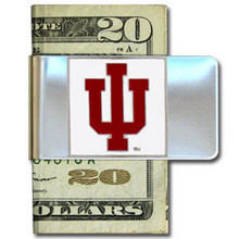 Indiana Hoosiers Logo Money Clip NCCA College Sports CMCL39