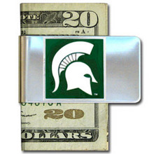 Michigan State Spartans Logo Money Clip NCCA College Sports CMCL41