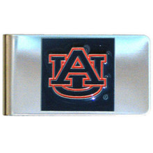 Auburn Tigers Logo Money Clip NCCA College Sports CMCL42