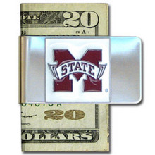 Mississippi State Bulldogs Logo Money Clip NCCA College Sports CMCL45