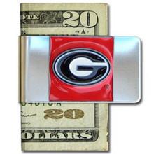 Georgia Bulldogs Logo Money Clip NCCA College Sports CMCL5