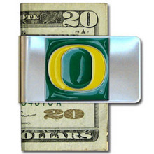 Oregon Ducks Logo Money Clip NCCA College Sports CMCL50