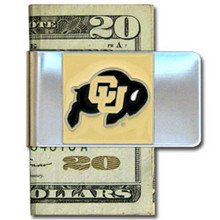 Colorado Buffaloes Logo Money Clip NCCA College Sports CMCL57