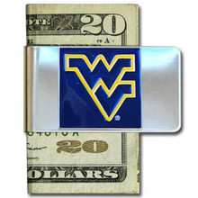 West Virginia Mountaineers Logo Money Clip NCCA College Sports CMCL60