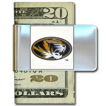 Missouri Tigers Logo Money Clip NCCA College Sports CMCL67