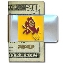 Arizona State Sun Devils Logo Money Clip NCCA College Sports CMCL68