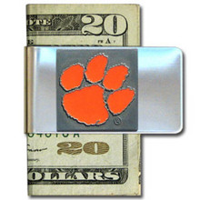Clemson Tigers Logo Money Clip NCCA College Sports CMCL69
