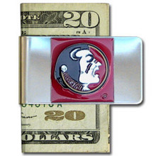 Florida State Seminoles Logo Money Clip NCCA College Sports CMCL7