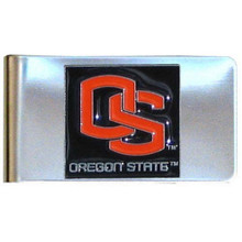 Oregon State Beavers Logo Money Clip NCCA College Sports CMCL72
