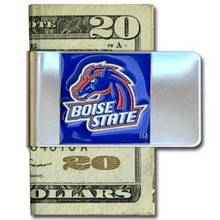 Boise State Broncos Logo Money Clip NCCA College Sports CMCL73