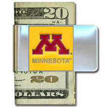 Minnesota Golden Gophers Logo Money Clip NCCA College Sports CMCL77