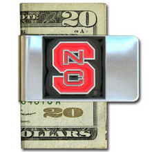North Carolina State Wolfpack Logo Money Clip NCCA College Sports CMCL79