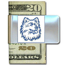UCONN Huskies Logo Money Clip NCCA College Sports CMCL81