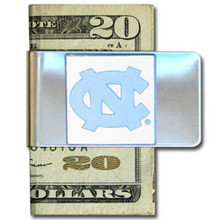 North Carolina Tar Heels Logo Money Clip NCCA College Sports CMCL9
