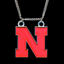 Nebraska Cornhuskers Logo Chain Necklace NCCA College Sports CN3