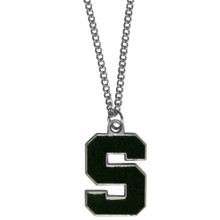 Michigan State Spartans Logo Chain Necklace NCCA College Sports CN41