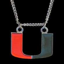 Miami Hurricanes Logo Chain Necklace NCCA College Sports CN6