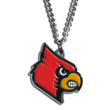 Louisville Cardinals Logo Chain Necklace NCCA College Sports CN88