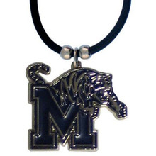 Memphis Tigers Cord Pendant Necklace NCCA College Sports CPR103
