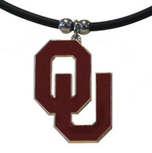 Oklahoma Sooners Cord Pendant Necklace NCCA College Sports CPR48