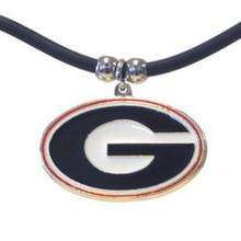 Georgia Bulldogs Cord Pendant Necklace NCCA College Sports CPR5
